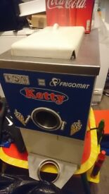 Soft whip ice cream machine 240v counter top commercial not carpigiani