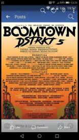 Boomtown festival ticket