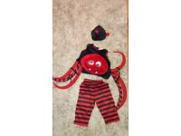 spider halloween outfit age 1 to 2