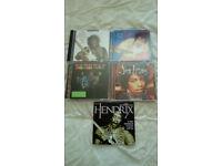 "JIMI HENDRIX-4 X ""ORIGINAL"" CD'S & 1 X PROMO CD-EX"