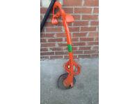 multi trim electric flymo garden trimmer