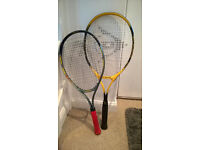 Two Tennis Racquet - Used once.