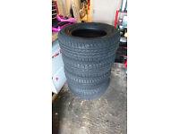 GoodYear Wrangler 255/65R17 Tyres Nissan Nivara £80