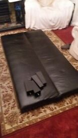Leather Single Sofabed