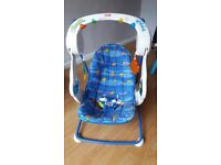Fisher price swinging chair with lights and music