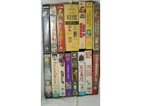 167 video tapes large selection