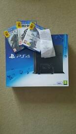 brand new PlayStation 4 500GB 3 games and now TV pass