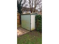 Timber garden shed 6' x 4' - dismantled ready for collection