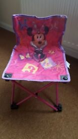 Minnie Mouse Bow-tique childs folding chair