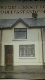 3 Bedroom Terraced house for Rent Broughshane
