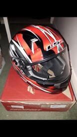 Motorbike helmet small-medium size