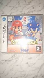 Mario and sonic at the Olympic games ds