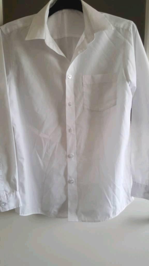 Boys white shirts age 12 years