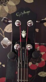 Epiphone gibson EB-3 bass guitar swap for epiphone fender precision