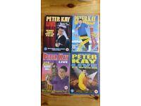 Peter Kay DVDs x 4