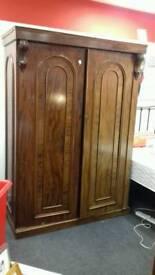 Double wardrobe BHF Glasgow
