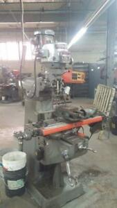 Bridgeport Milling Machine, 2 HP, Series 1, with 2 axis DRO