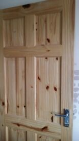 House Pine door to sell