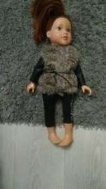 Design a friend doll's