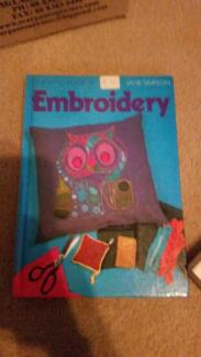 Embroidery book, 128 page, hardcover Whyalla Playford Whyalla Area Preview