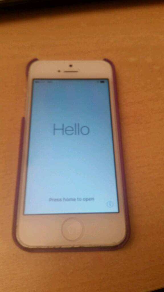 White iPhone 5 - 32GB on EE