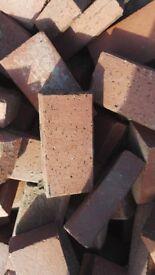 Clay made block paving brindle