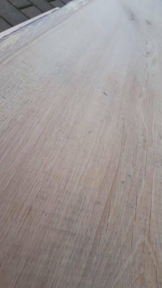 Holzbohle waschtisch holzplatte Bad Holzbank live edge eiche