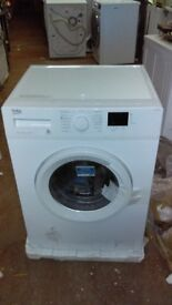 BEKO white 8KG WASHING MACHINE new ex display