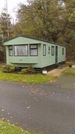 Static caravan for sale 35x12 2008willerby richmond 2 bed c/h d/g sited wooler riverside