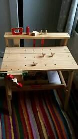 Melissa and Doug toy workbench