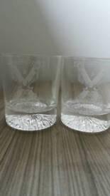 6 Whisky glasses 51st Highland