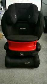 Recaro monza nova IS isofix group 1, 2, 3 car seat