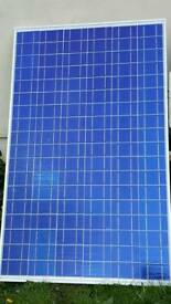 195w poly solar panel with charging kit
