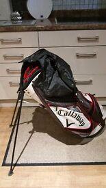 Callaway and donlop golf bag