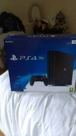 PS4 Pro like new BOXED