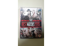 New Shrink Wrapped DVD Box Set of 3 Disks WWW Best Pay- Per-View Matches 2015