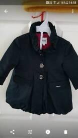 Baby coat Hugo Boss