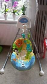 Fisher Price baby swing *for quick sale *