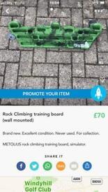 METOLIUS Rock Climbing Training Stimulation Board
