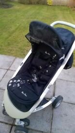 Silver Cross Halo pushchair and carseat