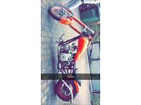 110cc semi auto chopper not quad,pit bike,mini motor