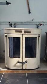 Charnwood Slx fs wood burning boiler stove