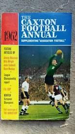 The Caxton 1962 football annual