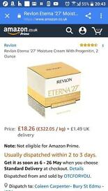 Revlon Eterna 27 Moisture Cream packs of 2