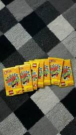 Loads of unopened lego cards