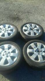 Vauxhall corsa sxi wheels and tyres