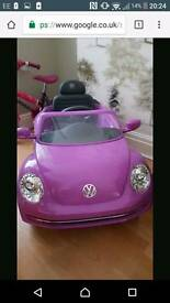 Electric vw beetle