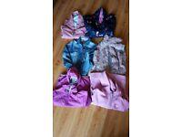 Bundle of girls coats and jackets age 9-10, next,regatta & trespass