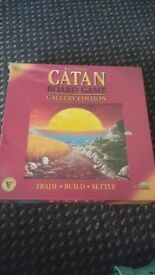 Catan galelery edition- Board game