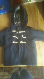 1&1/2 to 2 years old duffel coat